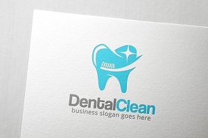 Dental Clean Logo