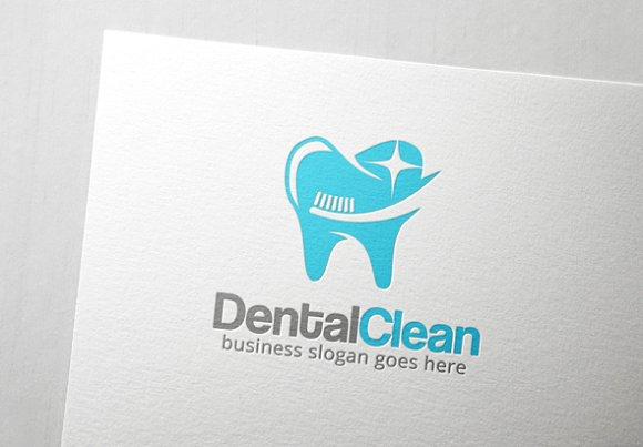 Dental Clean Logo in Logo Templates