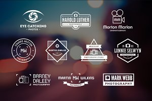 10 Photography Logos Vol. 19