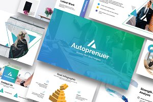 Autopreneur Business Google Slides