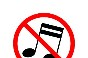 Music are not allowed