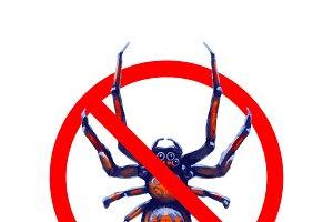 Exotic spiders forbidden