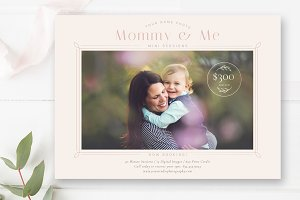 Mommy & Me Minis Template