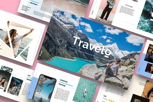 Travelo Google Slides Template