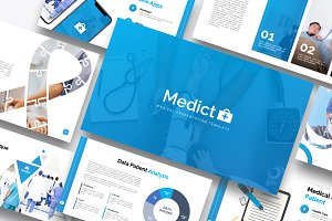 Medict+ Powerpoint Template