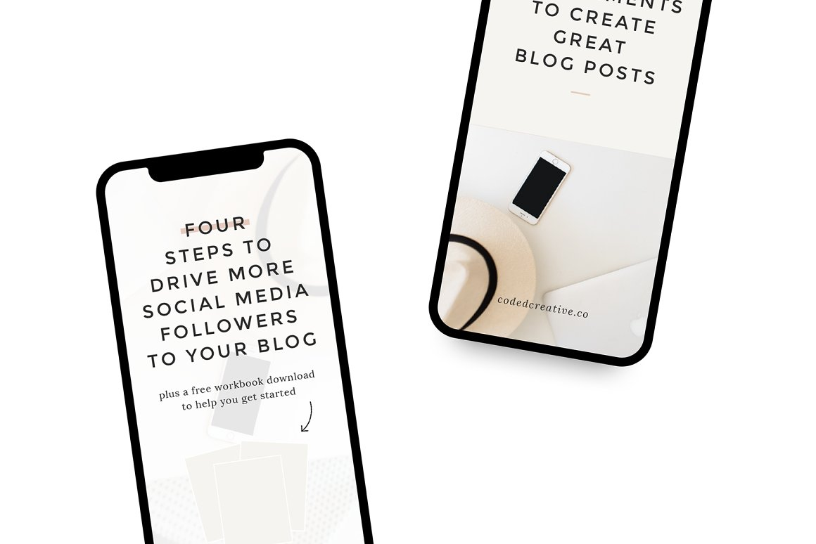 Bloom Pinterest Templates for Canva