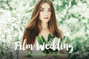 Film Wedding Photoshop Actions