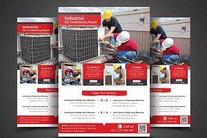 Air Conditioning Repair Flyer