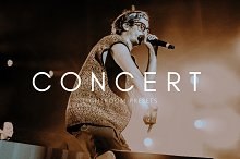 Cinematic Moody Concert LR Presets by  in Lightroom Presets