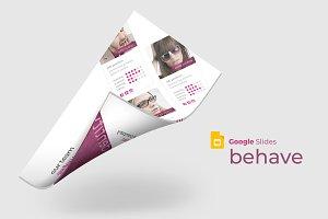 Behave - Google Slide Template
