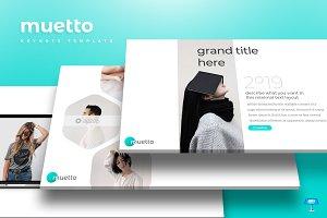 Muetto - Keynote Template