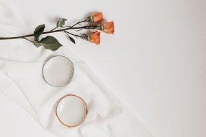 Tangerine Rose Styled Stock 080