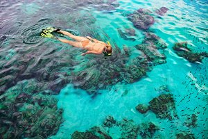 Tropical snorkeling