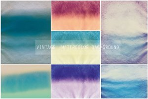 Vintage watercolor background