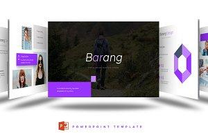 Barang - Powerpoint Template
