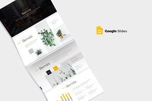 Benda - Google Slides Template