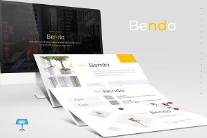 Benda - Keynote Template