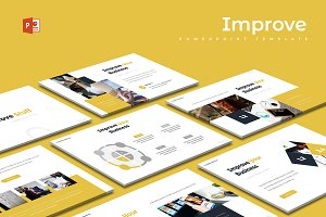 Improve - Powerpoint Template
