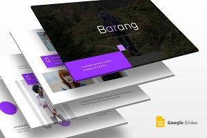 Barang - Google Slides Template