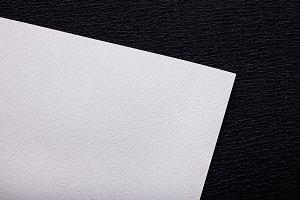 Mockup. White paper.