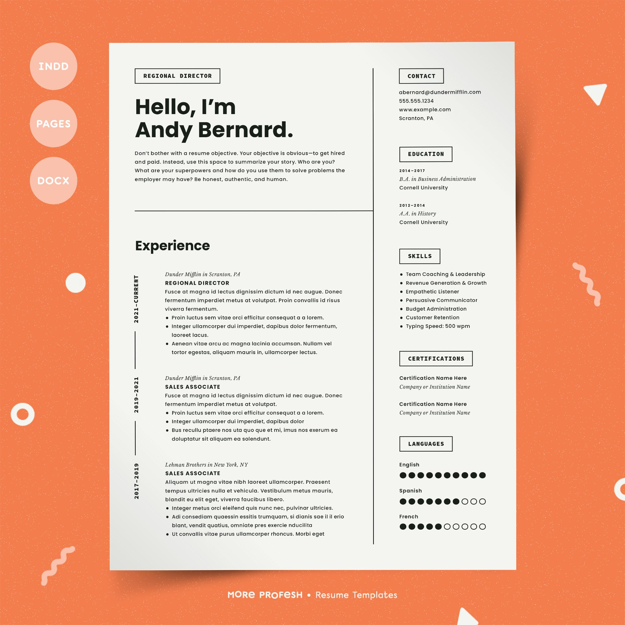 Template Cv 2019 from images.creativemarket.com