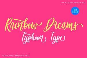 Rainbow Dreams font
