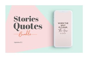 2504 Stories Quotes Bundle
