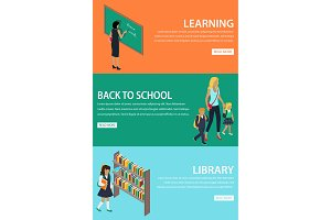 Learning Back to School Library
