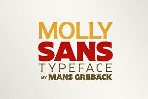 Molly Sans - 25 fonts!