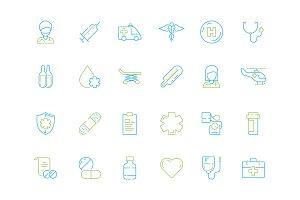 Medicine icon. Hospital doctor