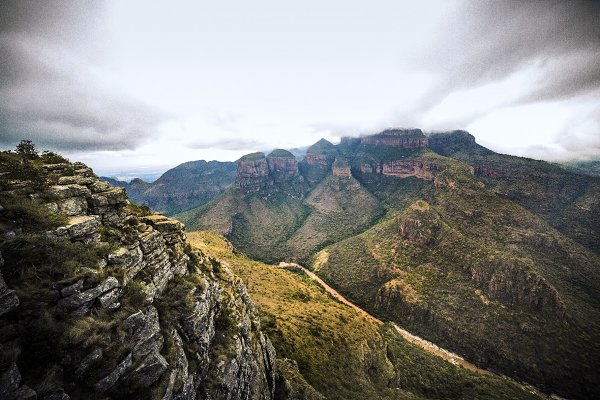 South Africa's 3 Rondavels
