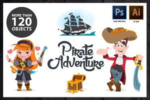 Pirate Adventure. Big Set