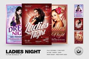 Ladies Night Flyer Bundle V1