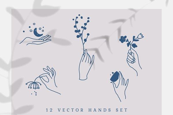 Graphics - Vector Hands Set