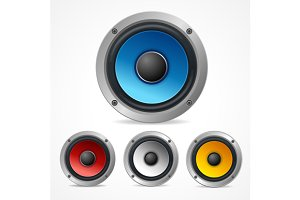 Vector Audio Speaker Set