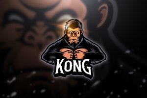 Kongs - Mascot & Esport Logo