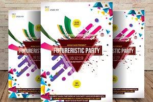 Futuristic Club Flyer
