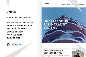 Emma – Responsive Email template