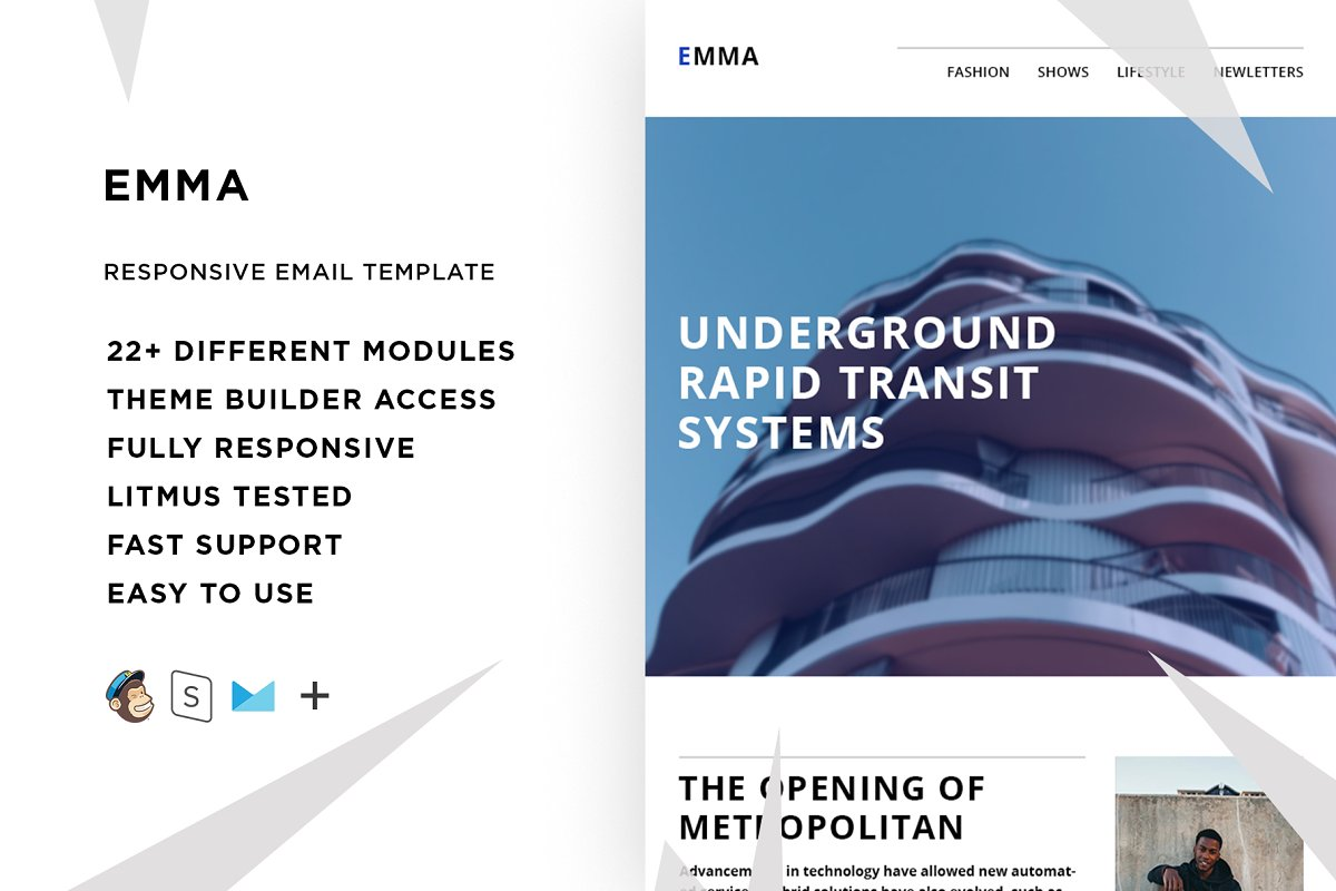 Emma – Email template + Builder