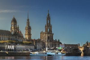 Cityscape of Dresden, Germany