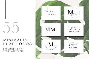 55 Minimalist Luxe Logos - 50% OFF