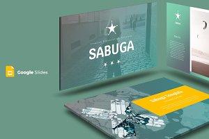 Sabuga - Google Slide Template