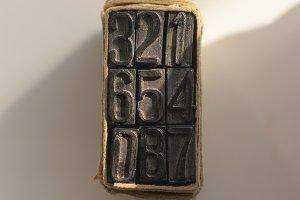 Vintage education stamp numbers