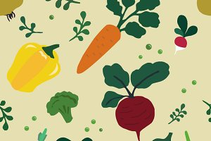 "Pattern ""Vegetables"""