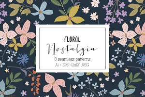Floral Nostalgia Pattern collection