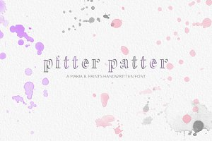 Handwritten Font - Pitter Patter
