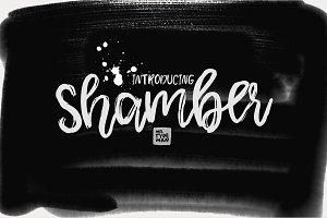 Shamber Handwritten Script