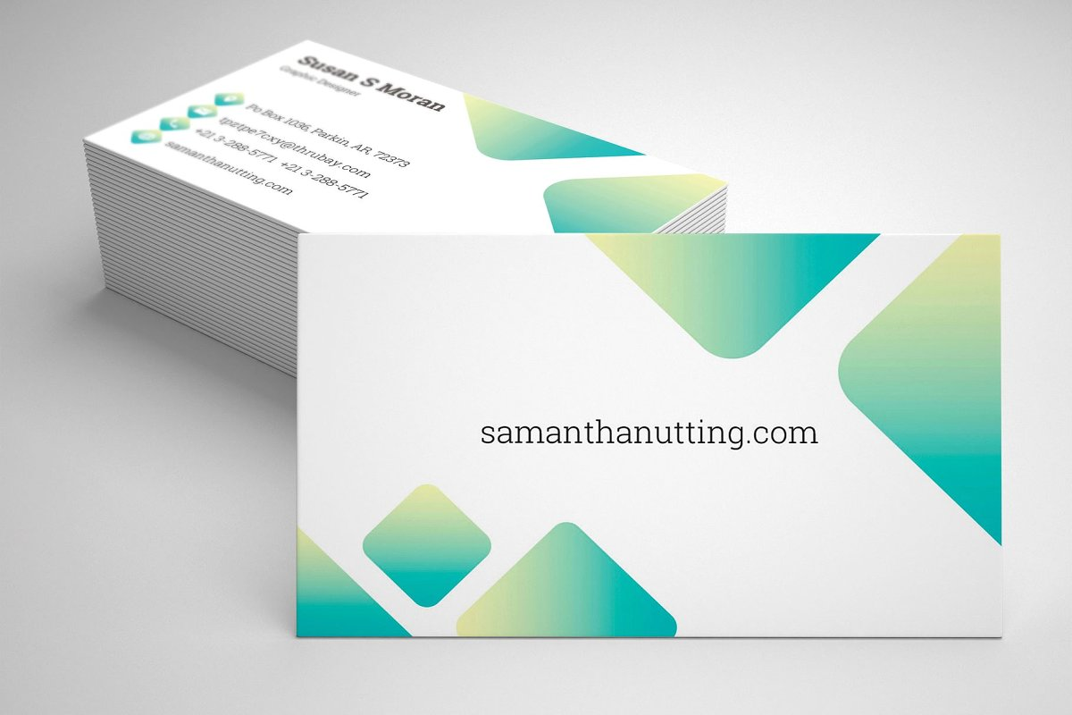 Business card in Business Card Templates - product preview 2