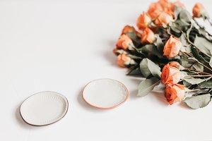 Tangerine Rose Styled Stock 110