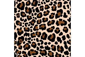 Animal pattern leopard seamless